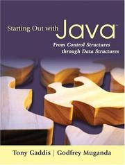 Cover of: Starting Out with Java | Tony Gaddis