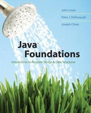 Cover of: Java Foundations | John Lewis