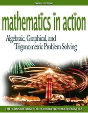 Cover of: Mathematics in Action | Consortium for Foundation Mathematics