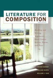Cover of: Literature for composition