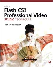 Cover of: Adobe Flash CS3 Professional Video Studio Techniques