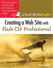 Creating a web site with Flash CS3 Professional by David Morris