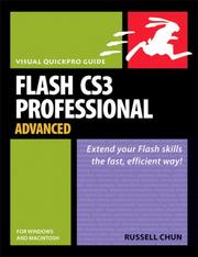 Cover of: Flash CS3 Professional Advanced for Windows and Macintosh | Russell Chun
