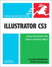 Cover of: Illustrator CS3 for Windows and Macintosh (Visual QuickStart Guide) | Elaine Weinmann