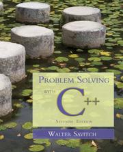 Cover of: Problem Solving with C++ (7th Edition) | Walter Savitch