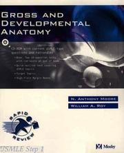 Cover of: Gross and Developmental Anatomy | N. Anthony Moore, William Roy