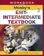 Cover of: Workbook to Accompany Mosby's EMT-Intermediate Textbook