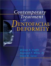 Cover of: Contemporary Treatment of Dentofacial Deformity | William R. Proffit