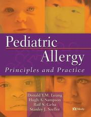 Cover of: Pediatric Allergy | Donald Y. M. Leung