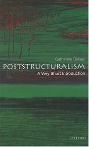 Cover of: Post-structuralism