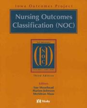 Cover of: Nursing Outcomes Classification (NOC) | Sue Moorhead