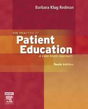 Cover of: The Practice of Patient Education
