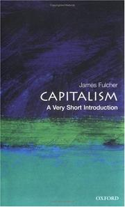 Cover of: Capitalism | James Fulcher