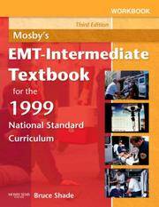 Cover of: Workbook for Mosby's EMT-Intermediate Textbook for the 1999 National Standard Curriculum