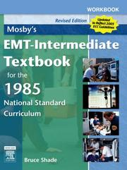 Cover of: Workbook for Mosby's EMT-Intermediate Textbook for the 1985 National Standard Curriculum