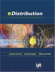 Cover of: E-Distribution | Barry Lawrence