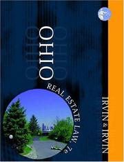 Cover of: Ohio real estate law | Carol K. Irvin