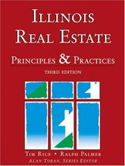 Cover of: Illinois Real Estate | Tim Rice
