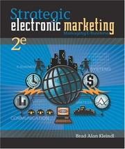 Strategic electronic marketing by Brad Alan Kleindl