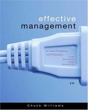 Publisher south western college publishing open library effective management by chuck williams fandeluxe Gallery