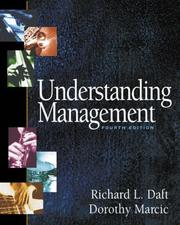 Cover of: Understanding Management With Xtra