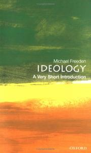 Cover of: Ideology