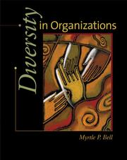 Cover of: Diversity in Organizations | Myrtle P. Bell