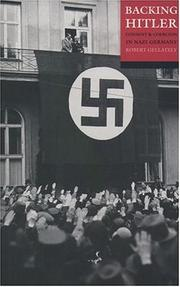 Cover of: Backing Hitler | Robert Gellately
