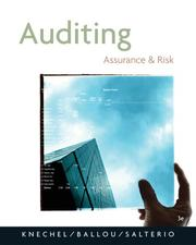 Cover of: Auditing | W. Robert Knechel