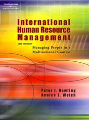 International human resource management by Peter Dowling