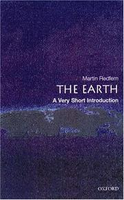 Cover of: The Earth | Martin Redfern