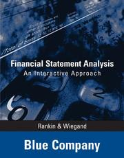 Cover of: Financial Statement Analysis - Blue Company | Larry Rankin