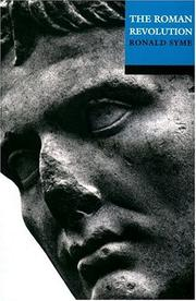 Cover of: The Roman revolution | Ronald Syme