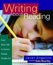 Cover of: Writing About Reading | Janet Angelillo
