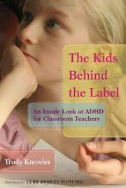 Cover of: The Kids Behind the Label | Trudy Knowles