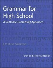 Cover of: Grammar for high school