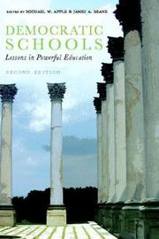 Cover of: Democratic Schools, Second Edition: Lessons in Powerful Education
