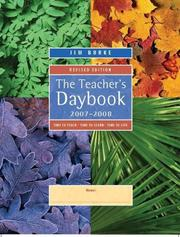 Cover of: The Teacher's Daybook, 2007-2008