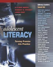 Cover of: Adolescent Literacy | Kylene Beers
