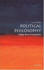Cover of: Political Philosophy | Miller, David