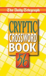 The Daily Telegraph Cryptic Crossword Book 56 (Crossword)