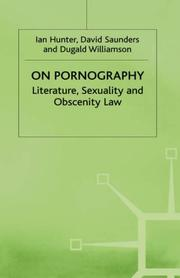 Cover of: On pornography