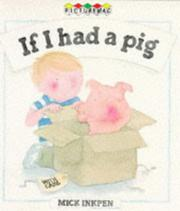 Cover of: If I Had a Pig (Picturemacs)