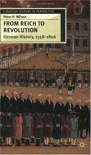 Cover of: From Reich to Revolution