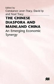 Cover of: The Chinese diaspora and mainland China | Constance Lever-Tracy