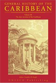 Cover of: General History of the Caribbean