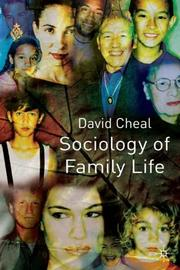 Cover of: Sociology of Family Life