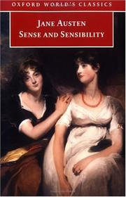 Sense and Sensibility (Oxford Worlds Classics)