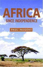 Cover of: Africa since independence