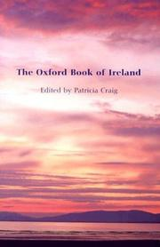 Cover of: The Oxford Book of Ireland | Patricia Craig
